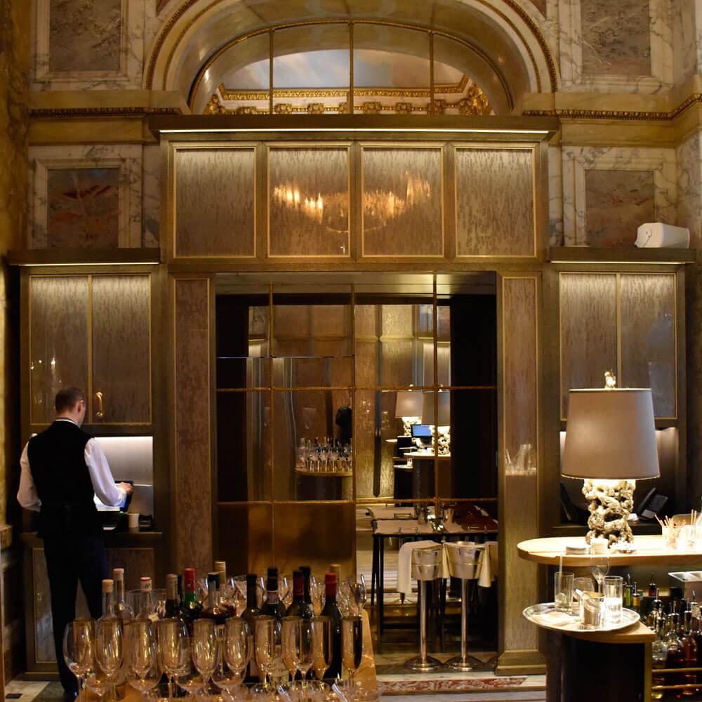 Ambassadors bar- Champagne cellar